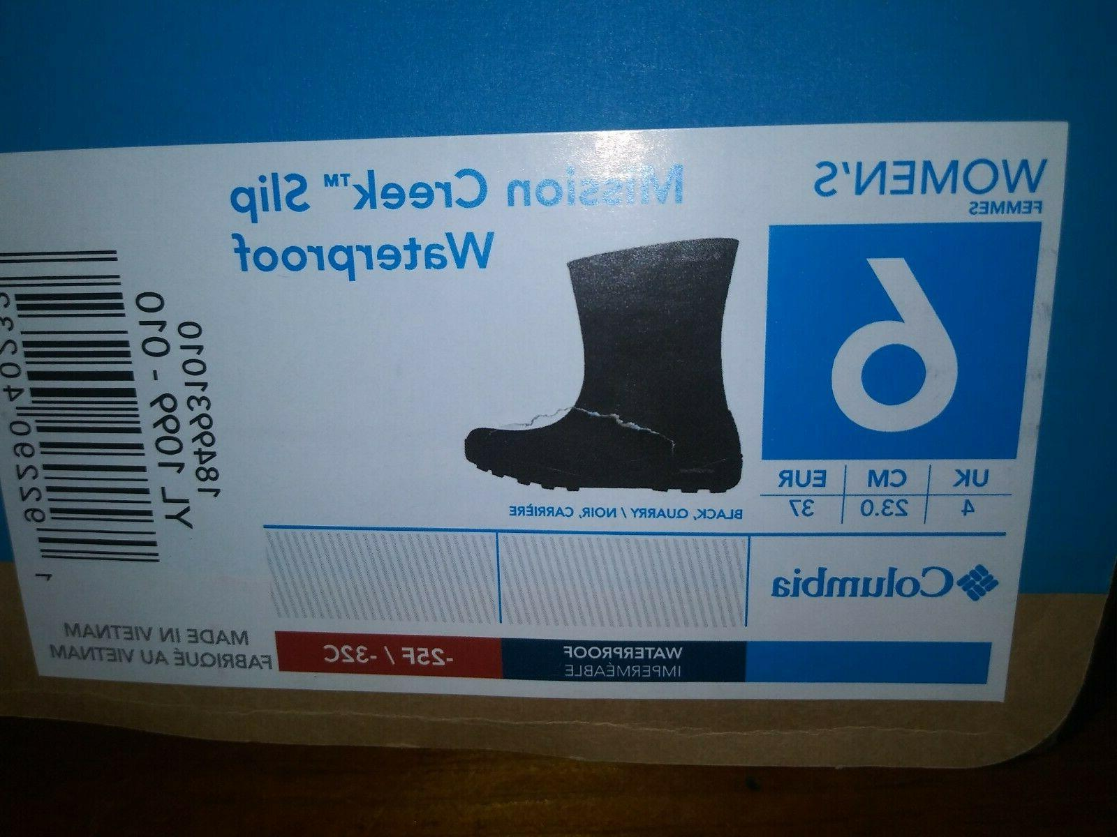 Women's Columbia Boots Size 6 Creek