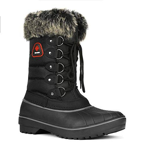 women s dp canada black faux fur