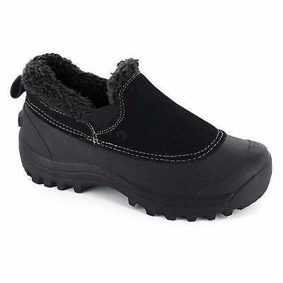 women s kayla black insulated leather winter
