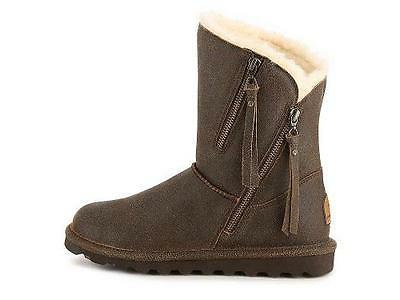 Women's Leather Winter Slipper Boots NEW