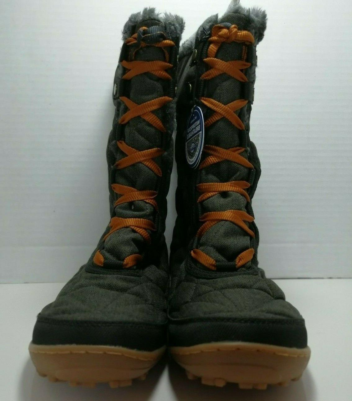 Columbia Women's Mid Alta Omni Heat Cold Weather Boots SIZE