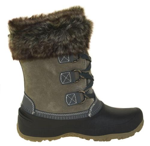 Khombu Women's Winter Boots Grey