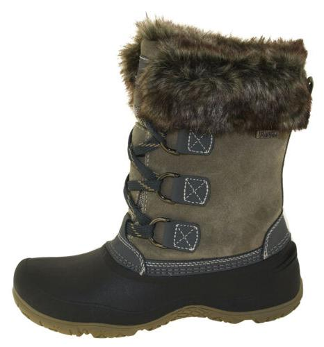 Khombu Slope Winter Boots Grey