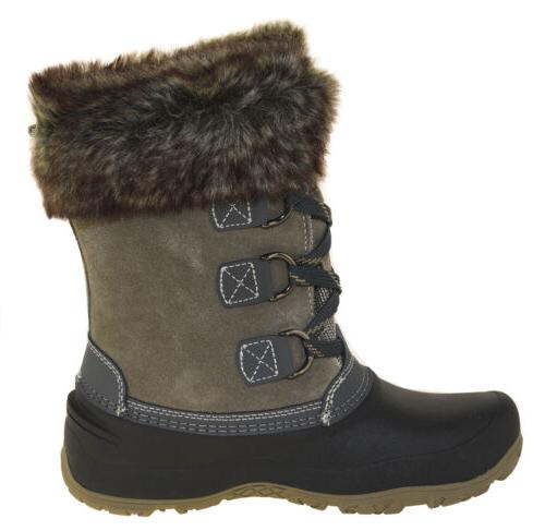 Khombu Women's Boots Grey