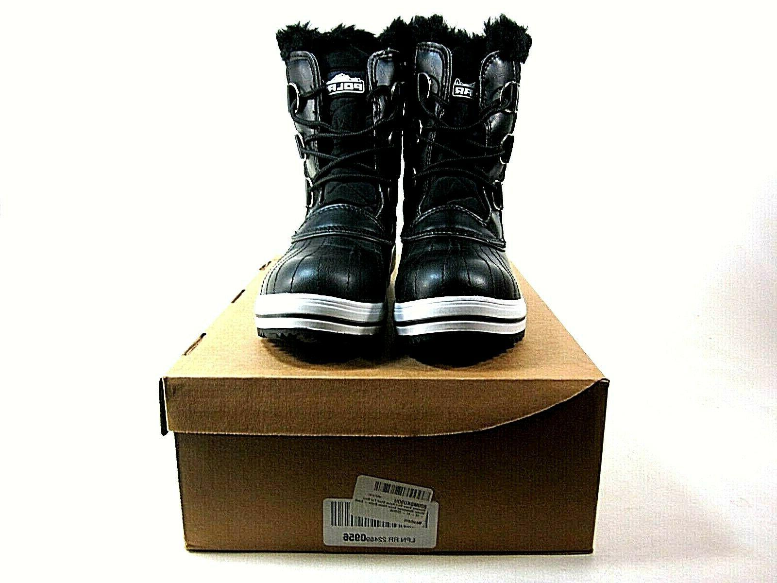 Polar Boot Rain Black Boots,US