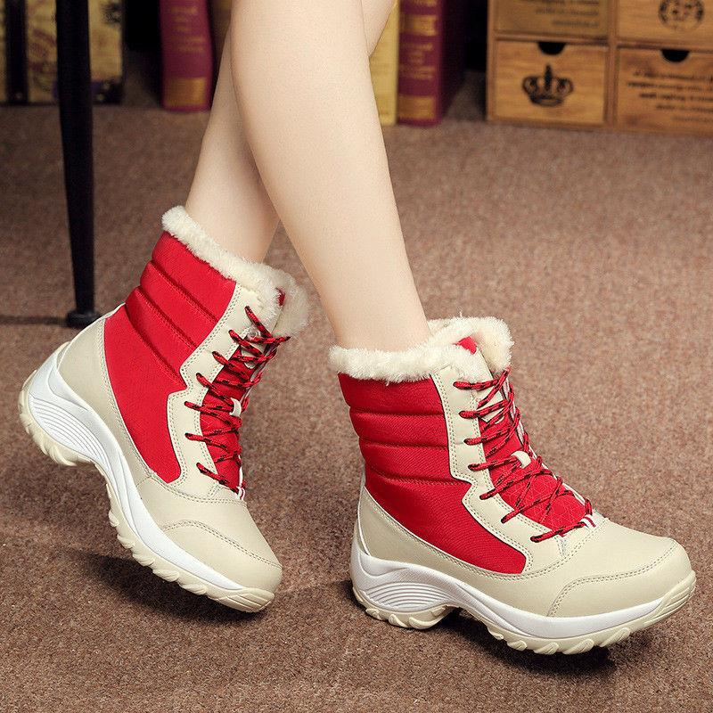 Snow Boots Velvet Shoes Waterproof Women's Tide