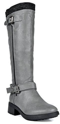 women s turtle grey knee high motorcycle