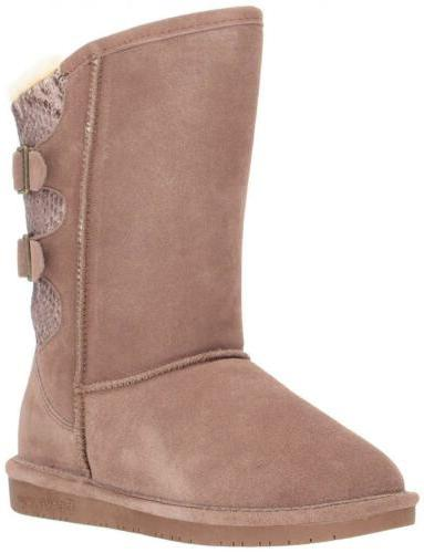 women s winter boots boshie suede knit