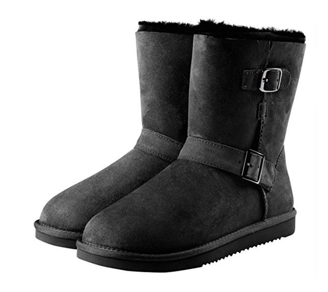 Kirkland Shearling Buckle Boots Colors Sizes