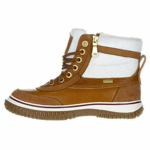 Pajar Women Georgia Cognac/Cream Leather Boots Various