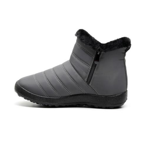 Women Boots Lined Shoes Slip Casual
