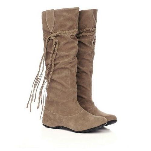Women Winter Warm Boots Suede Boots