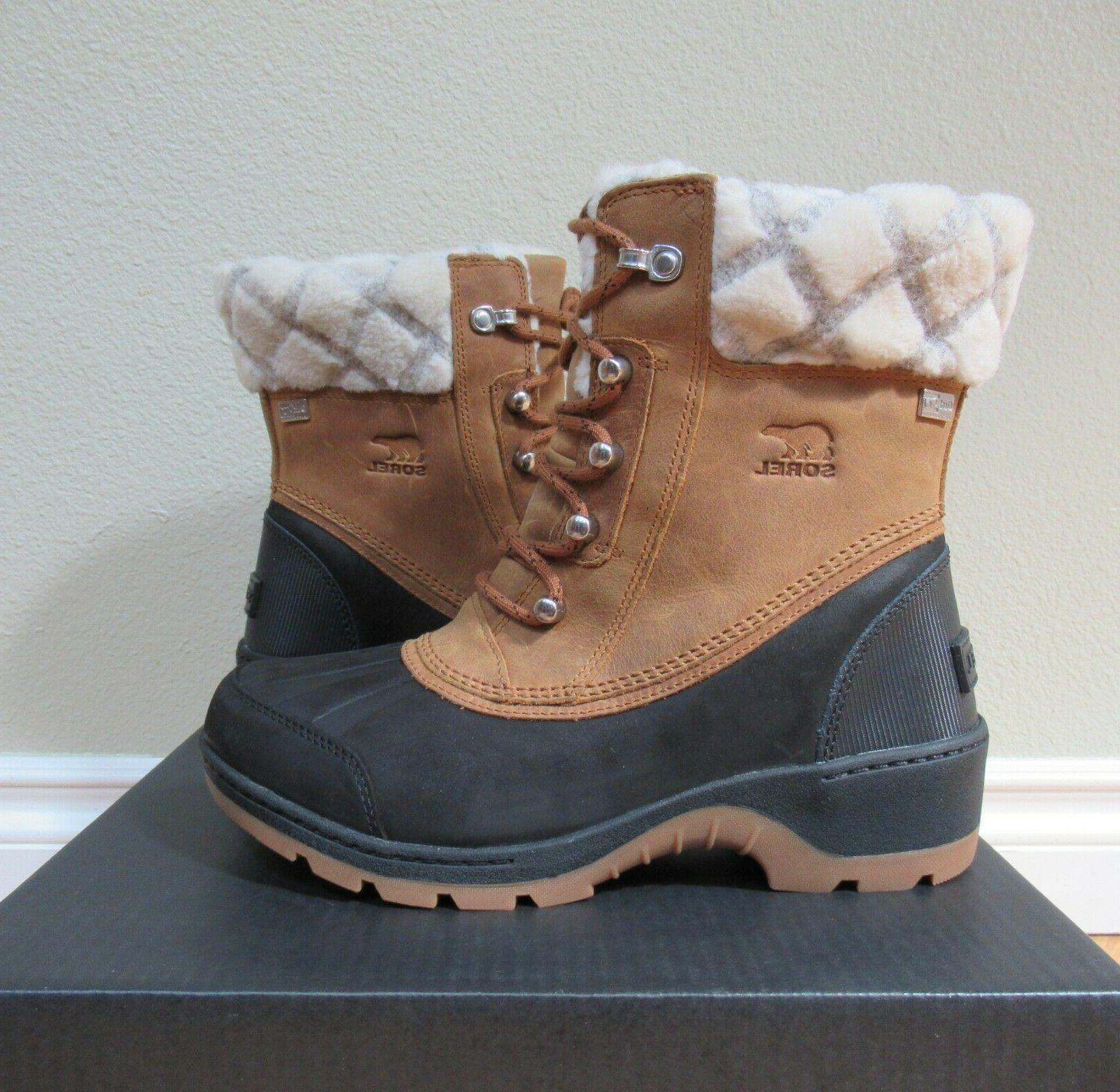 NEW BOX SOREL WOMENS 6.5-7-9 INSULATED WINTER BOOTS WARM!!