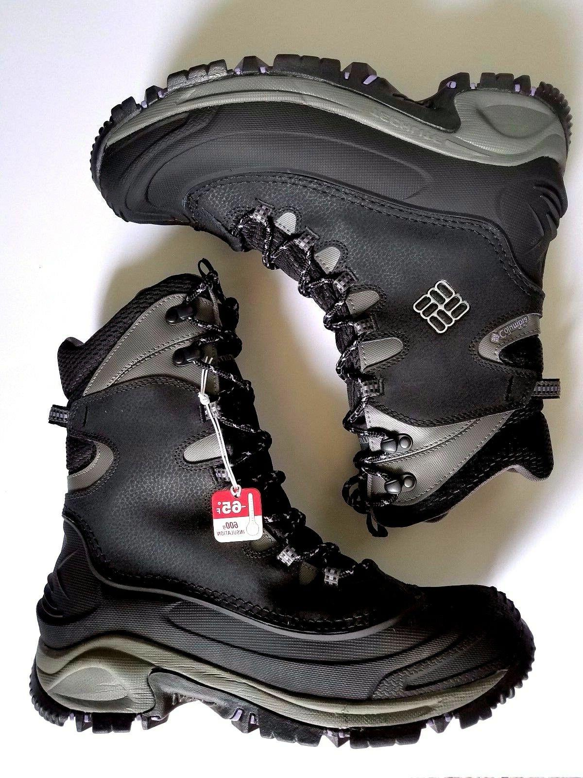Columbia Womens BL1573-010 BOOTS GR MID Size