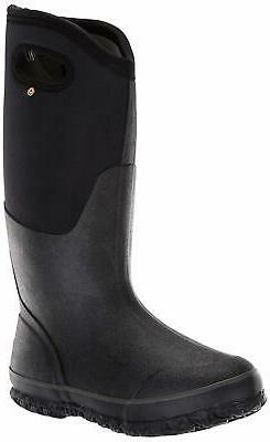 Bogs Womens Classic High Handle Waterproof Insulated Rain an
