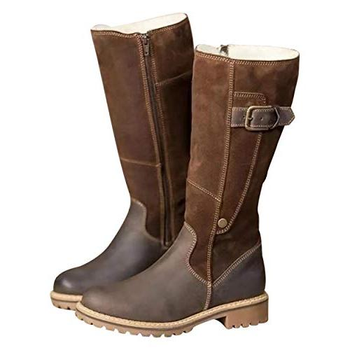 womens fashion boots knee high motorcycle riding