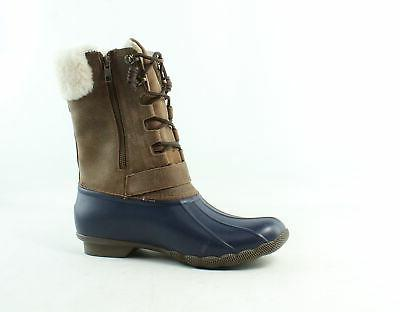 Sperry Top Womens Saltwater Fur Snow Boots