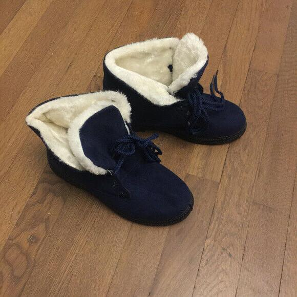 NEW Lined Winter Suede Comfortable Size 6