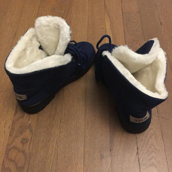 Winter Snow Boots Suede Size 6