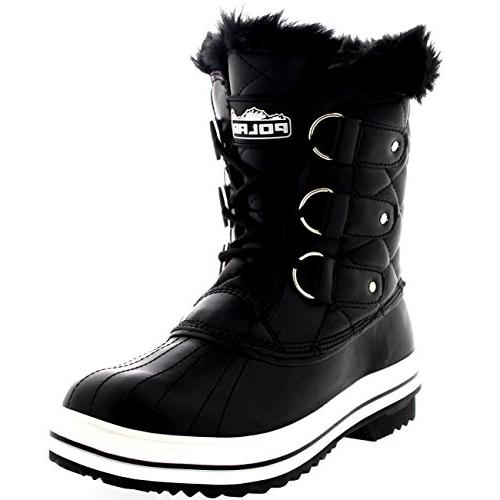 Polar Snow Boot Quilted Boots - 11 - BLL42