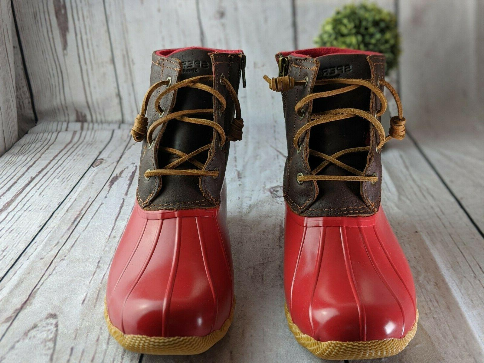 Womens Tan Duck Winter 9.5
