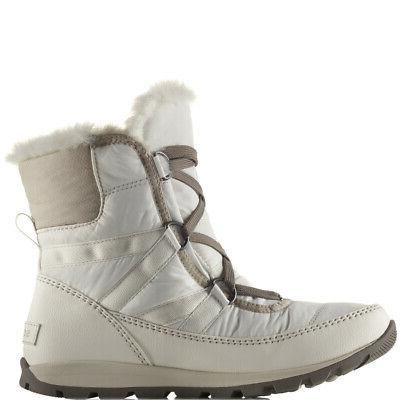Womens Lace Short Snow Thermal Boot