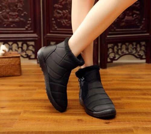 Womens Boots Outdoor Flat Shoes