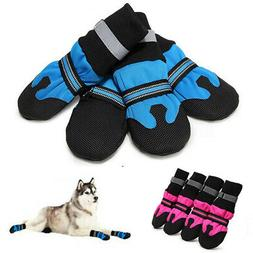 Large Dog Shoes Boots Booties Snow Winter Waterproof Reflect