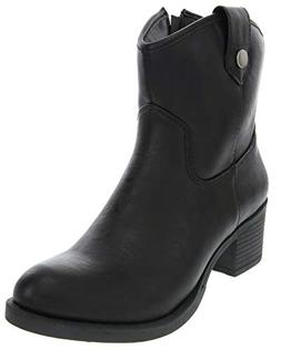 Rampage Women's Little Italie Low Shaft Mid Calf Riding Boot