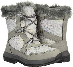 BEARPAW Marina Youth Boot Gray II Size 4 M US Big Kid