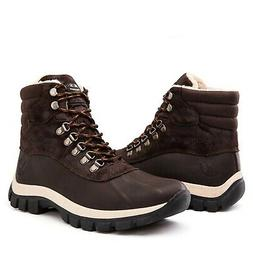 KINGSHOW Men's 1705 Work Snow Boots Brown 11 M US