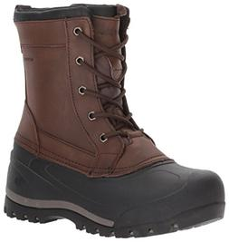 Northside Men's Cornice Snow Boot, Chocolate, 9 M US