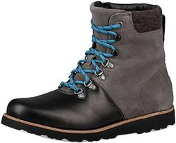 UGG Men's Halfdan Winter Boot, Charcoal, 9 M US