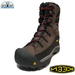 Keen Men's Insulated Winter Boots Summit County  Mulch Black