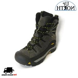 Keen Men's Insulated Winter Boots Summit County  Dark Shadow