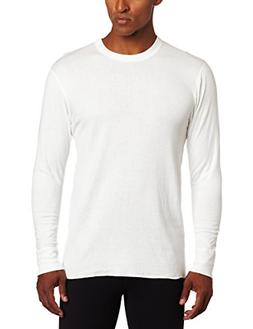 Duofold Men's Mid Weight Wicking Crew Neck Top, Winter White