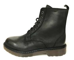 Men's Shoes Woman Kletoon Combat Boots Type Dr.Martens Black