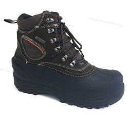 Brand New Mens Winter Boots Snow Leather Thermolite Waterpro