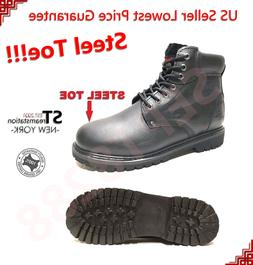LM Men's Work Boots Winter Shoes With Steel Toe Water Resist