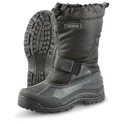 Men Snow Boots Waterproof insulated Northside Alberta Black