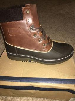 Global WIN Men's Brown 1721 Winter Boots Size 10.5M