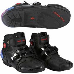 mens leather winter boots lightweight waterproof motorcycle
