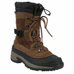 Mens Snow Boots Insulated Waterproof Northside Bozeman Brown