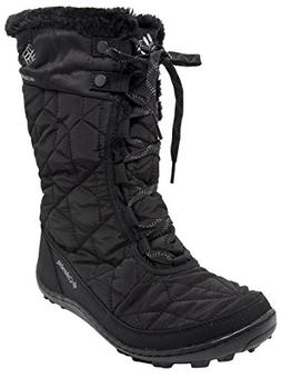 Columbia Women's Minx Mid II Omni-Heat Winter Boot  US, Blac