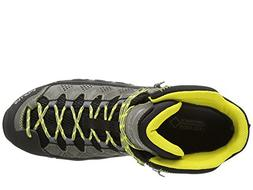Salewa Men's MS ALP Flow Mid GTX Hiking Shoe, Smoke/Yellow,
