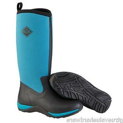 MUCK Harbor Blue Arctic Adventure Womens SNOW Winter Boots 5