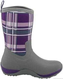 Muck Purple Plaid Arctic Weekend Womens Casual Snow Winter B