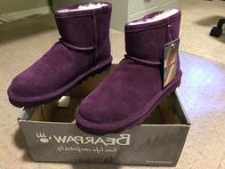 New Bearpaw Alyssa Purple Winter Boots - Size 7