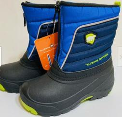 NEW Arctic Shield Boys Winter Snow Boots Blue  Size 10