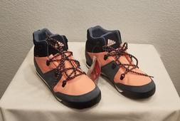 new cw snowpitch winter boots juniors size